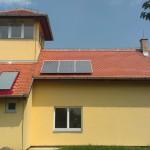 Solarni paneli na vizitorskom centru
